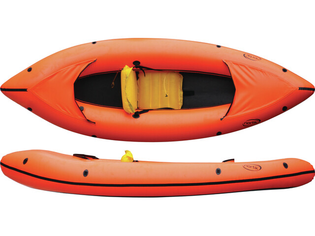 nortik Family-Raft Boot oranje